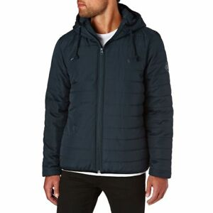 Men's Element Alder Navy Puff Quilted Jacket, Size M. NWT, RRP $119.99.