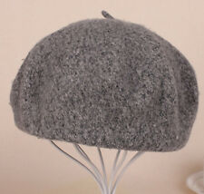 19Color Women Sweet Pure Beret Artist Beanie Hat Ski Cap Warm Wool Winter Casual