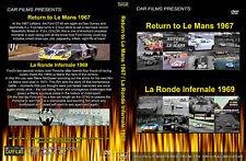 LE MANS 1967 1969 FERARRI PORSCHE GT40 FORD DVD