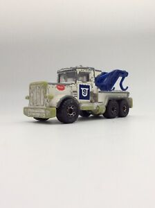 Matchbox Peterbilt Police Tow Truck 1981 Toy Car Toy Truck Very Play Worn Convoy