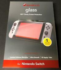 ZAGG INVISIBLE SHIELD HD GLASS SHATTERPROOF NINTENDO SWITCH SCREEN PROTECTOR