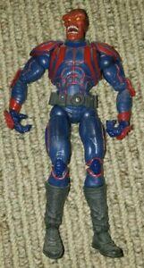 "The Red Skull Face Off Marvel Legends Johann Schmidt 6"" Figure Toy Biz 2006"