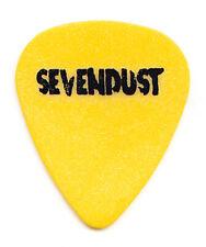Sevendust Single-Sided Yellow Guitar Pick - 1999 Home Tour