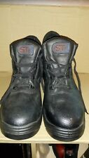 ST SAFETY BLACK BOOTS SIZE 11