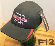 NWT ENFORCERS FOOTBALL HAT BLACK EMBROIDERED LETTERING/GRAPHICS SIZE S/M F12
