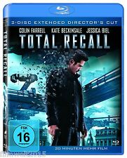 Total Recall (2 Disc Extended Director's Cut)[Blu-ray](NEU/OVP) 20 Min.mehr Film