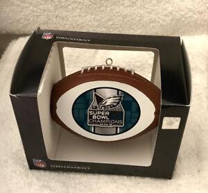 Philadelphia Eagles Super Bowl 52 LII CHAMPIONS CHAMPS CHRISTMAS ORNAMENT #2