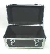 "7"" Vinyl Record Single Compartment Euro Style Case (holds 200 plus 7"" 45rpm)"