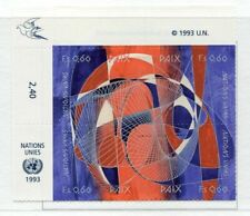 19627) UNITED NATIONS (Geneve) 1993 MNH** Nuovi** Peace + lab