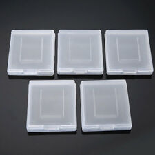 5x Clear Game Cartridge Case Cover Boxes for Gameboy Advance GBA SP GBM Cheaper