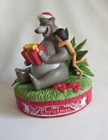Disney Grolier Jungle Book Christmas Figurine 1995 LE with Box