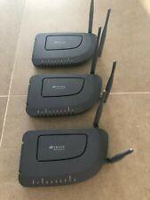 Zhone 6519-A2-NA ADSL2+ modem/WiFi Router - lot of 3