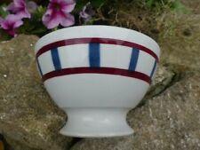 Bol ancien décor Basque bon état old French bowl good condition 8,5cm X14,5cm
