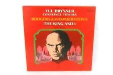 The King And I LP Yul Brynner Constance Towers 1977 RCA Records ABL1-2610