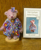 DEB CANHAM Artist Designs LILLY LAVENDER, 2007 Show Spec. From Retail Store LE
