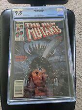 New Mutants #18 CGC 9.8 WP 1984 Newsstand 1st New Warlock, Demon Bear