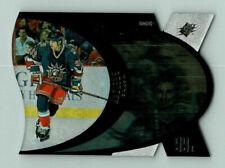 1997-98 UPPER DECK SPX SILVER WAYNE GRETZKY Insert Card # 30 New York Rangers BV