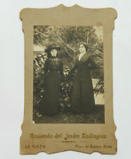 Buenos Aires Zoological Garden Photo w/Handwritten Letter on Back (1910s)
