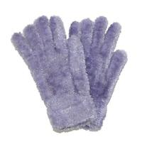 New CTM Women's Chenille Solid Winter Stretch Gloves