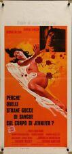 CASE OF THE BLOODY IRIS locandina movie poster EDWIGE FENECH GIALLO 1972
