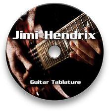 Jimi Hendrix Rock Metal Guitar Tabs Tablature Lesson Software CD - Guitar Pro