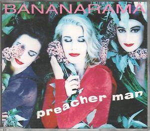 Bananarama  CD-SINGLE  PREACHER MAN  (c) 1991