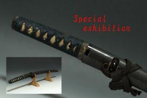 Japan Antique Edo wakizashi katana koshirae sword yoroi samurai Busho tsuba 脇指