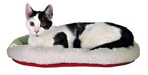Cuddly Reversible Cat Kitten Bed Side A - Summer Nylon Side B - Winter Lambs Fur