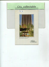 MP198 # MALAYSIA MINT PICTURE POST CARD * THE REGENT HOTEL, KL