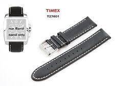 Timex repuesto Pulsera t27601 chronograph Indiglo - 20mm universal LW cuero