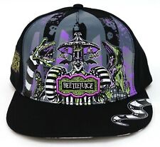 New Universal Halloween Horror Nights 2020 Beetlejuice Adjustable Baseball Hat