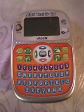 "Abc Text & Go Vtech Hand Held Educational Learning Toy Sound 6.5""x4"""