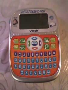 """ABC Text & Go Vtech Hand Held Educational Learning Toy Sound 6.5""""x4"""""""