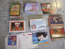 lion king/fievel goes west hercules,162 card lot -14 inserts free shipping