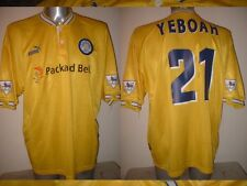 Leeds United Tony Yeboah Puma Adult XL Shirt Jersey Football Soccer Vintage 96 Y