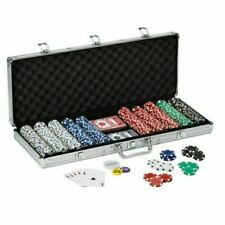 Fat Cat 55-0605 Texas Hold'Em Dice Poker Chip Set - 500 Count