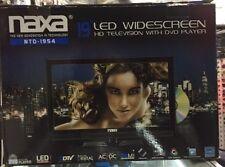 "Naxa 19"" LED  Wide Screen HD COMBO TV/DVD/Media Player w/Auto Package ("