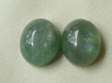 Premium Amazonite Cabochons Natural Gemstone Oval Shimmering Glow 11 cts total