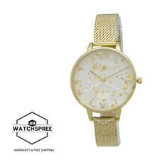 Olivia Burton Ladies' Celestial Demi Dial With Boucle Mesh Watch OB16GD15