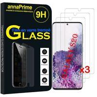 """Vitre Film Verre Trempe Protecteur d'écran pour Samsung Galaxy S20/ S20 5G 6.2"""""""