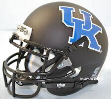 KENTUCKY WILDCATS (MATTE BLACK) Schutt XP Mini Helmet