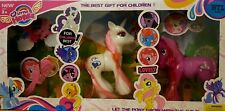 "MY PRETTY PONY FASHION STYLE 6"" PONY UNICORN DOLL PLAY SET GIRLS PINK WHITE TOY"