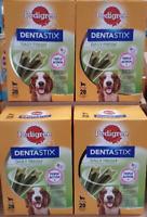 4 x Pedigree Dentastix Fresh 28 Sticks Best Before 09/11/2020