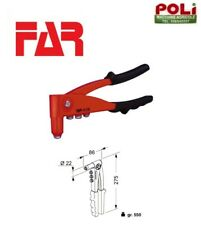 RIVETTATRICE MANUALE PER RIVETTI K39 FAR MADE IN ITALY AZIONAMENTO MANUALE