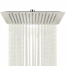 16 Inch Rain Shower Head Brushed Nickel 304 Stainless Steel Rainfall Showerhead