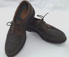 Allen Edmonds Lifestyles Leather Dock Boat Shoe Casual Loafer 10 B Narrow Brown