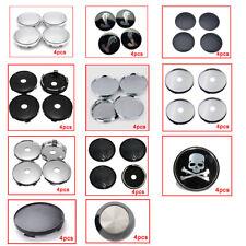 4Pcs Universal Car Wheel Tire Rims Center Hub Caps Cover Decorative Accessories