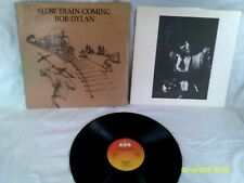 BOB DYLAN, SLOW TRAIN COMING, 1979,ORIGINAL PHOTO INNER SL, EXCELLENT CONDITION
