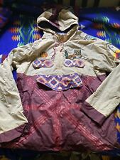 Reason Clothing Pullover Windbreaker Jacket Sz XL Forever Outside Patrol Aztec