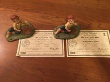 "All God's Children, Pair of Miss Martha Holcombe figurines: ""Ben� Coa Rare Find"